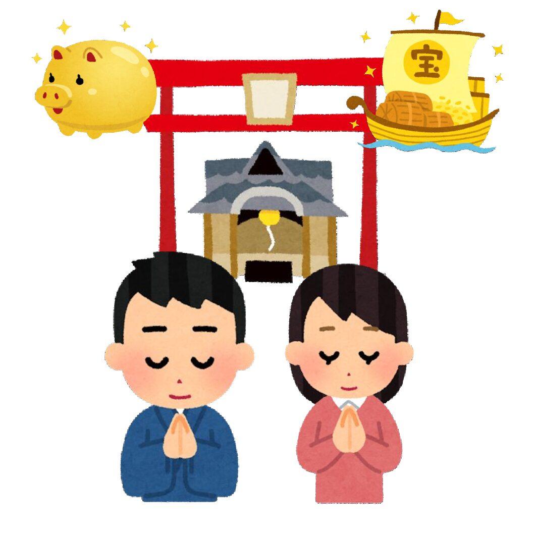 地方別!宝くじが当たる最強の寺社仏閣はここだ!